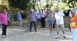 II campionato de petanca Festas do Cristo, o 13 de setembro no Chao