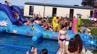 Photo of Éxito na segunda festa acuática con inchables de Sober