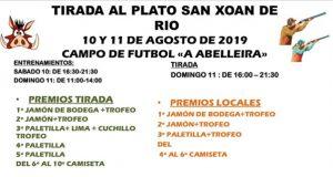 Diversas actividades durante esta semana en San Xoán de Río