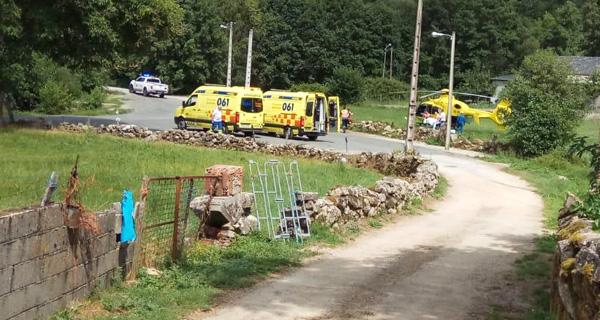 Photo of Catro persoas feridas ao ser atacadas por un can en Valdanta (O Bolo)
