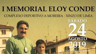 Photo of O I Memorial Eloy Conde, no Complexo Deportivo A Moreira de Xinzo