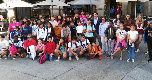 Photo of Corenta nenos de Ourense participan no Campamento de Verán que organiza o Concello en Porto do Son