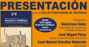 Xosé Manuel González Reboredo presenta o seu libro en Mouruás (San Xoán de Río)