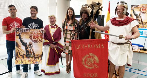 Photo of Quiroga volve á época do Imperio Romano