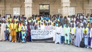Photo of O Concello de Ourense recibe á comunidade senegalesa, coincidindo coa visita do Serigne Mame Mor Mbacke