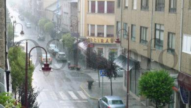 Photo of Alerta amarela por tormentas e fortes chuvias en Valdeorras e na montaña ourensá