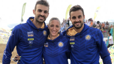 Photo of Integrantes do Volei Praia Milenio Ourense acoden ao Campionato de España