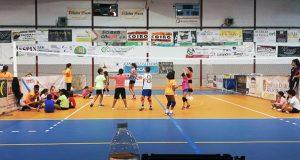Arranca o campus de voleibol do CV Ribeira Sacra