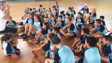 Photo of Corenta cativos participan no I campus deportivo Vila de Viana