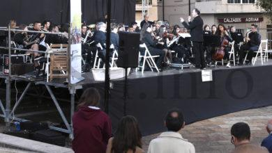 """Photo of O primeiro concerto """"Sons de Banda no Camiño de Inverno"""" en Vilamartín, en imaxes"""