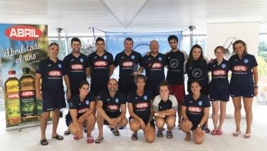 Photo of O CN Escualos homenaxea ao equipo máster de augas abertas, campión do XVI circuíto galego