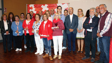Photo of 16 voluntarios de Cruz Vermella reciben o recoñecemento polo seu labor na organización
