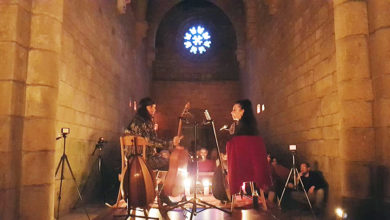 Photo of El Amir e Eva Durán conquistan ao público no Mosteiro de Santa Cristina de Ribas de Sil
