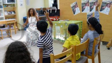 Photo of Soledad Felloza comparte os seus contos de bolboretas cos nenos barquenses