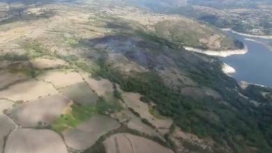Photo of Extinguido o incendio forestal de Casteloais (Chandrexa de Queixa)