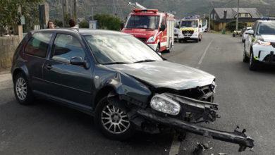 Photo of Unha persoa resulta ferida nun accidente de tráfico en Córgomo (Vilamartín)