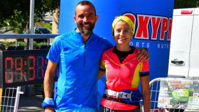 Photo of Iván Redondo e Esther Hernández impóñense no Gran Premio de Montaña da Rúa