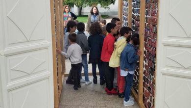 Photo of Alumnos do CEIP Otero Pedrayo de Viloira percorren as instalacións do 2º enBarcArte