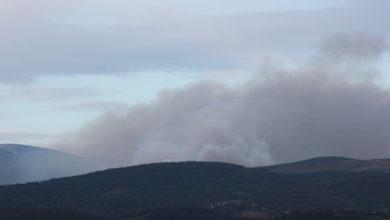 Photo of Incendios forestais na Gudiña, Quiroga, Chandrexa e Riós