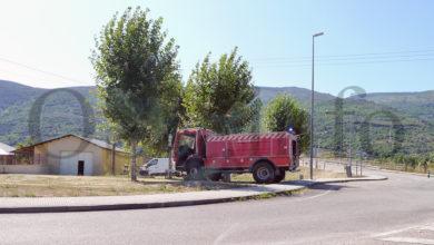 Photo of Prodúcese un pequeno incendio nas proximidades do polígono da Raña (O Barco)