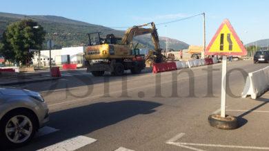 Photo of As obras da nova rotonda de Calabagueiros (O Barco) condicionan o tráfico