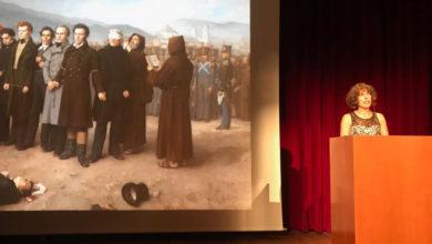 """Photo of Lucía Álvarez rememora, a través dunha lectura dramatizada, o """"Fusilamento de Torrijos"""""""