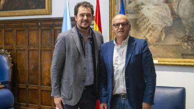 Photo of O alcalde da Rúa reúnese co presidente da Deputación de Ourense