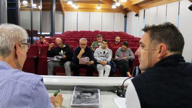 Photo of Carlos Bericat, coordinador de Deporte Escolar SXD de Ourense, reúnese no Barco coa Agrupación Deportiva Valdeorras