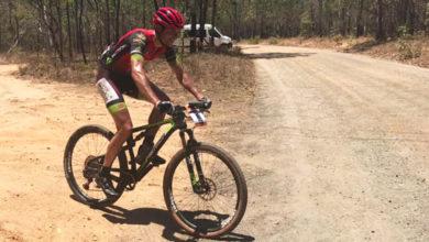 Photo of Brandan Márquez (Tres Lunas Valdeorras), 2º na primeira etapa da carreira de MTB en Australia