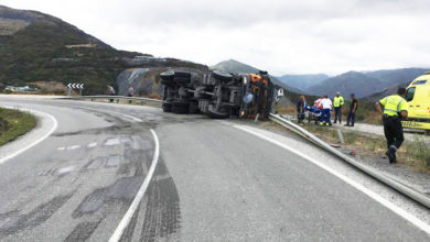 Photo of Un ferido grave nun accidente de tráfico en Carballeda de Valdeorras