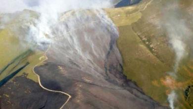 Photo of Incendios forestais en Chandrexa de Queixa e na Mezquita