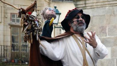 """Photo of Os """"Cómicos da Legua"""" de Viravolta Títeres tamén recalan na Rúa"""