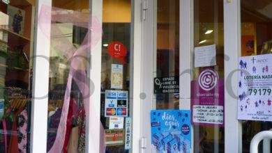 """Photo of O comercio barquense súmase á campaña """"Valdeorras tínguese de rosa"""""""