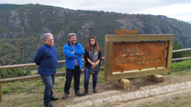 Photo of Novo plan de sinalización do territorio do Xeoparque Mundial Montañas do Courel