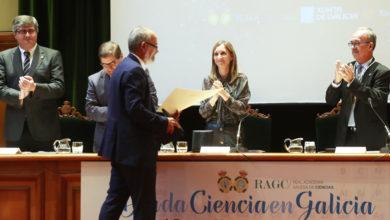 Photo of Carlos Diéguez, natural de San Xoán de Río, medalla de Investigación da Real Academia Galega de Ciencias