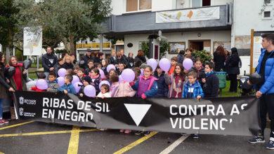 """Photo of Ribas de Sil (Lugo) participa na campaña """"En negro contra as violencias"""""""