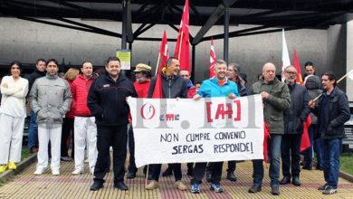 Photo of Nova concentración no Barco en apoio aos traballadores de seguridade do HCV