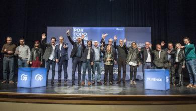 """Photo of Os candidatos do PP ao Congreso por Ourense piden no Barco """"unir os votos para botar a Sánchez"""""""