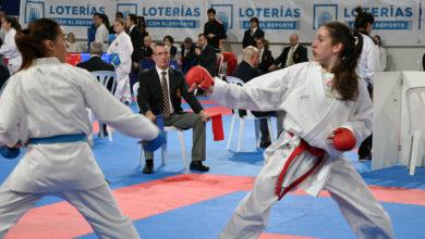 Photo of A karateka barquense Lucía Herrero, a única ourensá seleccionada para o campionato de España
