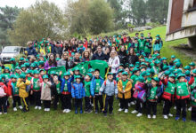 Photo of Escolares de Ourense participan nunha campaña de limpeza no parque de Montealegre