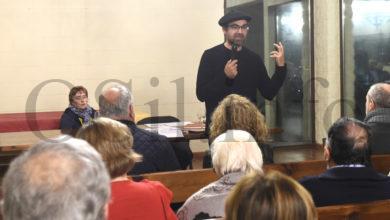 Photo of Séchu Sende aborda en Carballal (Petín) o aspecto sociolingüístico da poesía de Florencio Delgado