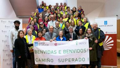 """Photo of Complétase o primeiro dos itinerarios do """"Camiño de superación"""", promovido pola AECC de Ourense"""