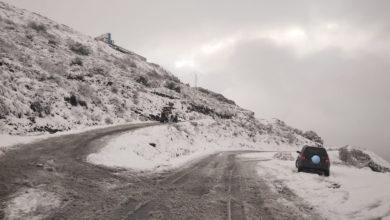Photo of A neve mantense na montaña ourensá e complica o transporte escolar en 4 centros educativos