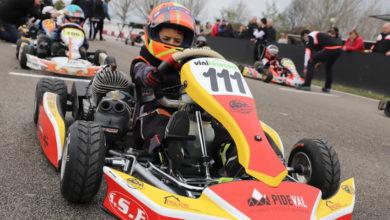 Photo of O barquense Leo Pérez, 3º en alevín no campionato social de inverno de karting de Cabañas