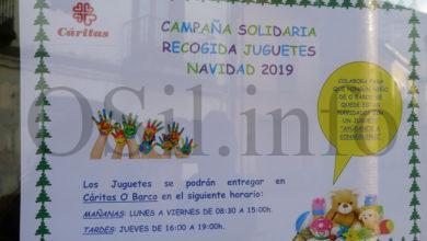 Photo of Cáritas Interparroquial do Barco inicia a campaña de recollida de xoguetes de Nadal