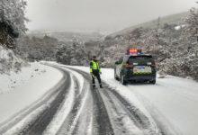 Photo of A circulación na estrada OU-122 en Casaio continúa limitada a turismos con cadeas e todoterreos