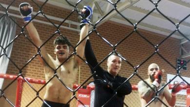 Photo of O loitador José Andreas López (Graíño Team O Barco) consegue o ouro no campionato galego de MMA
