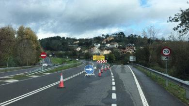 Photo of Por agora non hai data de reapertura para a estrada N-120, cortada entre Monforte e Velle