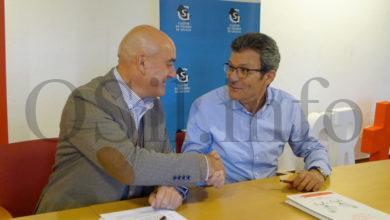 Photo of O Clúster da Pizarra de Galicia e a Cruz Vermella Valdeorras asinan un convenio de colaboración