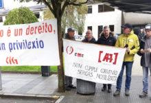 Photo of Continúan as mobilizacións dos gardas de seguridade do Hospital Comarcal Valdeorras
